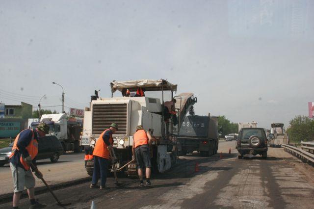 Ремонт дорог вНижнем Новгороде закончится на текущей неделе