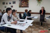 Людмила Перминова рассказала сотрудникам «Калининградтеплосети» о здоровом питании.