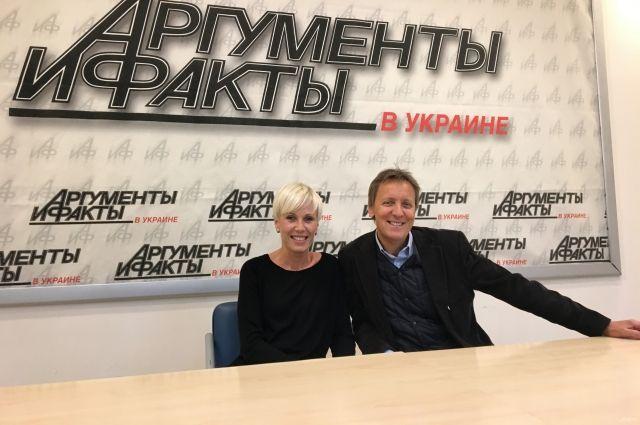 Жанна Тихонова и Анатолий Бондаренко в гостях у АиФ
