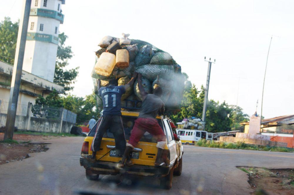 Гвинея. ВВП на душу населения — $1238