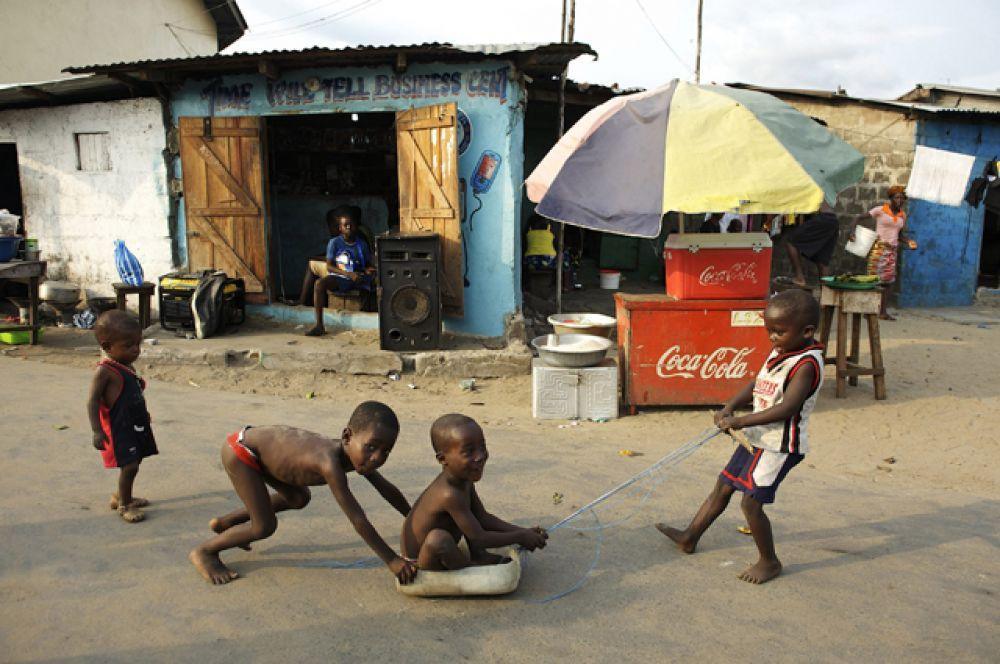 Либерия. ВВП на душу населения — $875