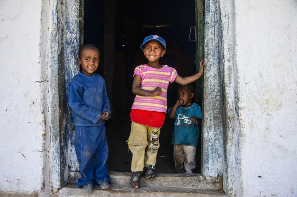 Эритрея. ВВП на душу населения — $1300