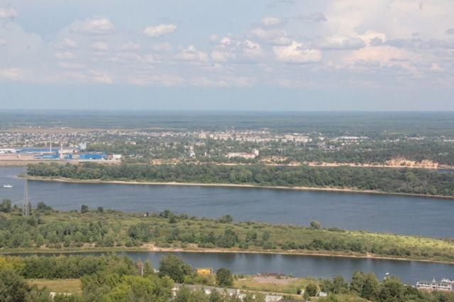 Волга уНижнего Новгорода безумно загрязнена