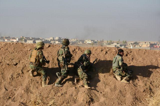 Террорист-смертник убил 70 иракских военных при штурме Мосула