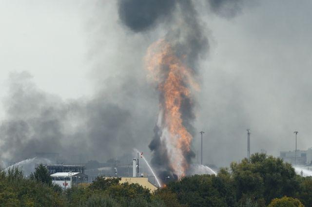 Отвзрыва назаводе BASF вГермании умер один человек