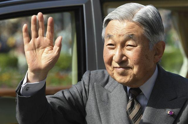 Император Японии отречется отпрестола в 2018-ом