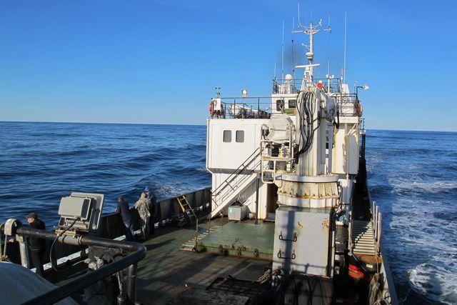 Морское путешествие от Петропавловска до Командор рассчитано на 36 часов.