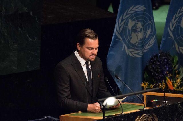 Впредставительстве ООН прокомментировали вероятную отставку ДиКаприо сдолжности Посла доброй воли