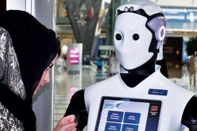ВДубае будут приняты наслужбу роботы-полицейские