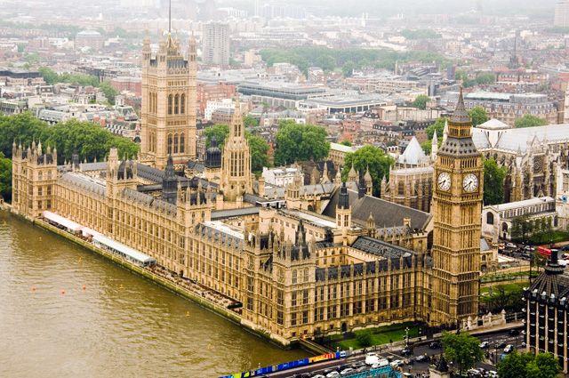 Британский парламент.