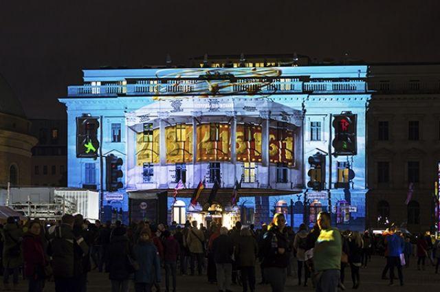 Украинцы поразили тысячи наблюдателей ивыиграли Фестиваль света вБерлине
