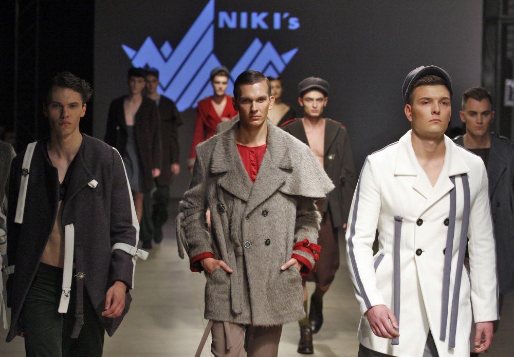 Эта коллекция от Niki's. Выглядит очень добротно
