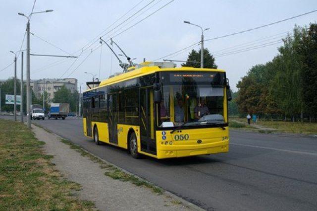 ВКиеве планируют проложить троллейбусную линию отаэропорта «Киев» дометро «Теремки»