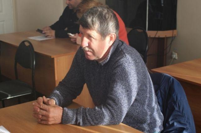 Николай Сушко спас тонувшего в озере рыбака.