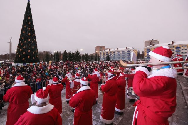 ВРыбинске готовятся кНашествию Дедов Морозов
