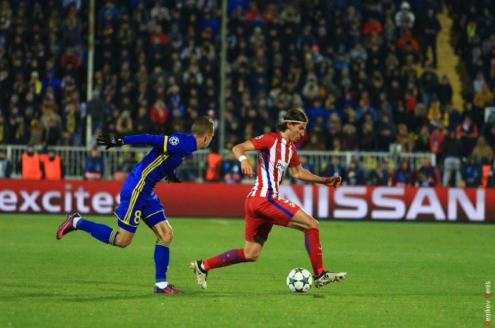 На втором месте расположилась мюнхенская «Бавария», обыгравшая голландский ПСВ со счетом 4:1.