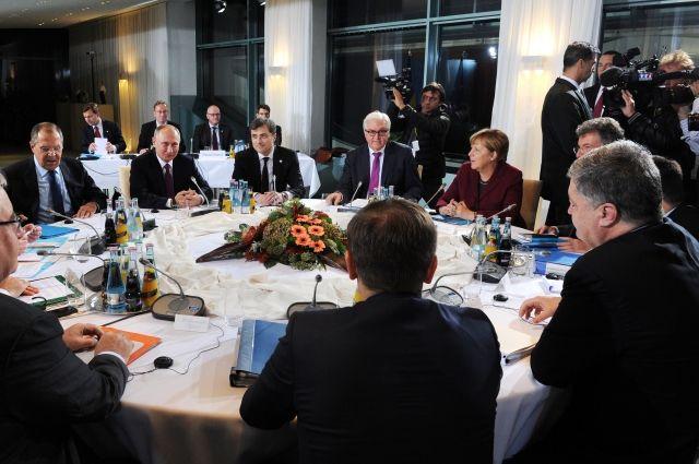 Путин рассказал об результатах  переговоров в«нормандском формате» вБерлине