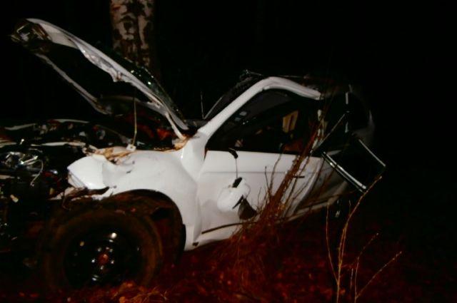 ВСеливановском районе «Лифан» разбилась одеревья— погибли двое