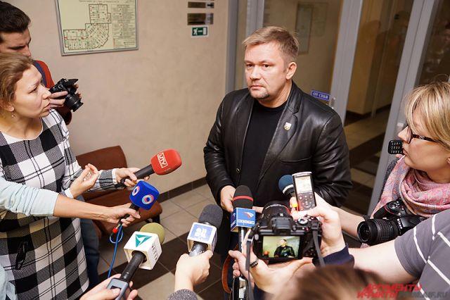 Адвокат Вадим Шпак.