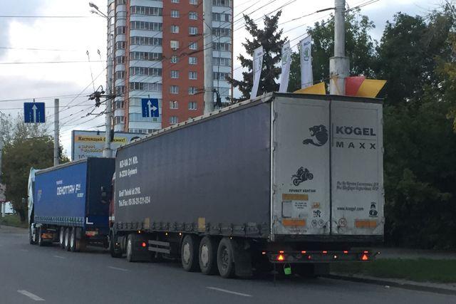 Волгоградская облдума освободила большегрузы от налога натранспорт