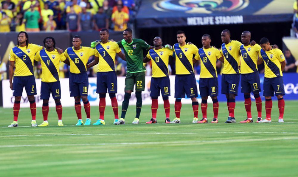 Эквадор — 19 место.