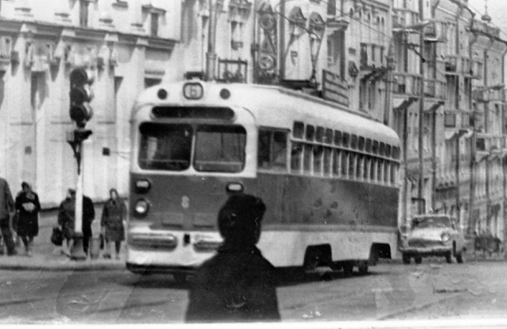 В 70-х годах протяженность трамвайных маршрутов в Смоленске составляла более 87 километров.
