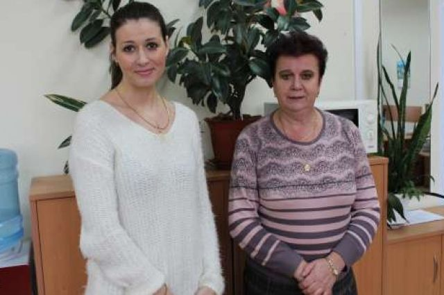 Мария Платонова и Татьяна Майорова