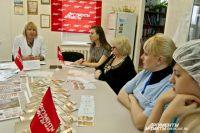 Сотрудницам предприятия рассказали об онкологических заболеваниях у женщин.