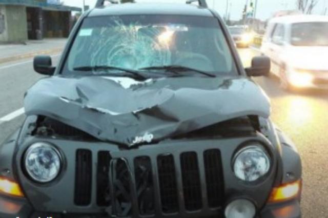 Появилось фото сместа смертоносного ДТП своенным авто под Львовом