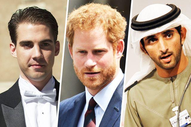 Пока свободны. 10 знаменитых холостых принцев