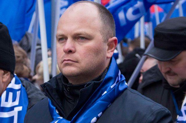 Председатель Президиума Общероссийской организации «Офицеры России» Антон Цветков.