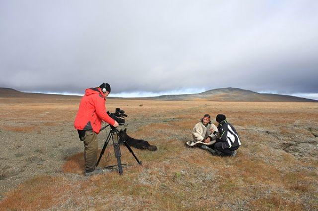 Фильм Анжелики Долининой о последнем шамане с острова Врангеля пока что ещё в работе.