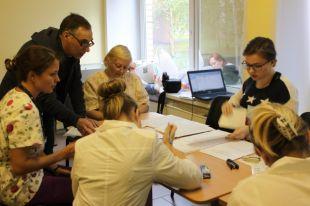 Волонтеры регистра - студенты медицинского факультета ПетрГУ