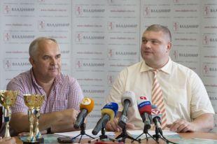 Олег Медведев (слева) и Алексей Колесников