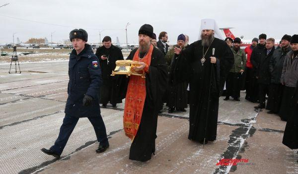 Рака с частицами святых мощей Георгия Победоносца