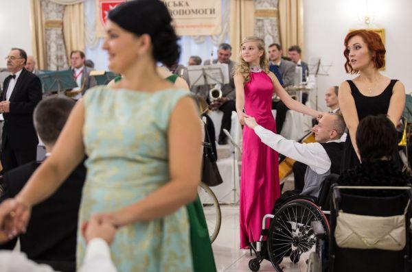 Мальтийская Служба Помощи работает в Украине с 1990 года и особенное внимание уделяет именно людям с инвалидностью