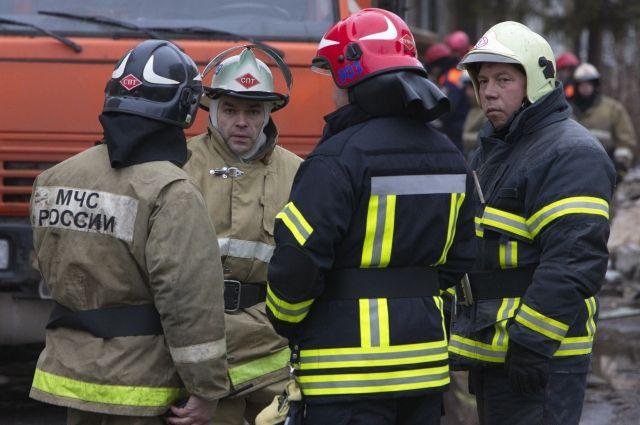 Продолжается разбор завалов наместе взрыва вРязани
