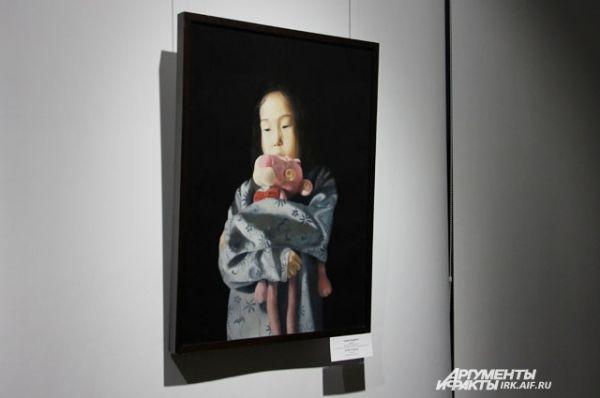 Одна из самых завораживающих картин выставки называется