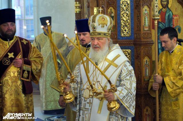 Патриарх Кирилл возглавил митрополию Калининградской области.