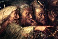 Александр-Мари Колин «Три ведьмы из Макбета». 1827 год