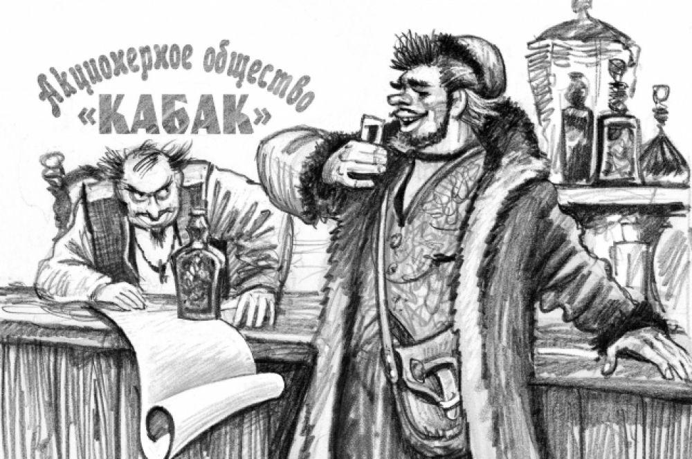 Юмористические рисунки Сергей Тараник тоже создает.