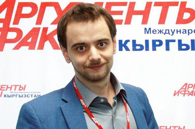 Шеф-редактор «АиФ-Кыргызстан» Владимир Банников.