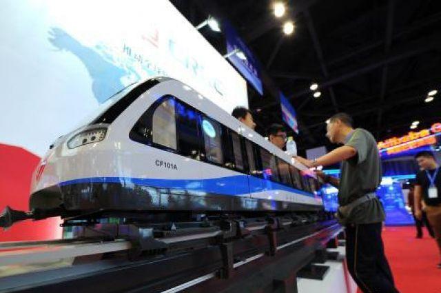 Самый быстрый поезд навоздушной подушке начали строить вКитае