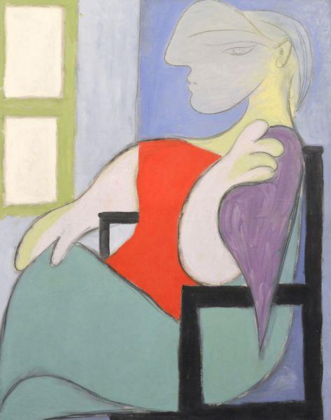 «Женщина, сидящая у окна», 1932 год.