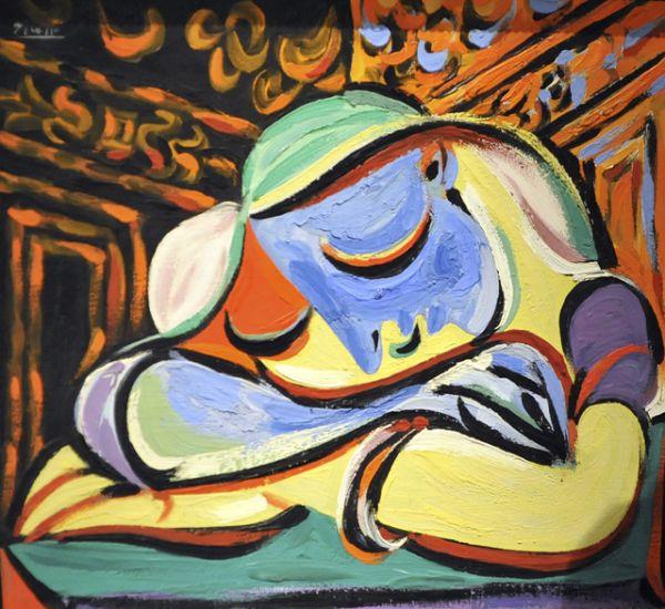 «Спящая девушка», 1935 год.