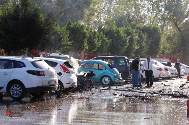 Попредварительной информации, среди пострадавших отвзрыва вАнталье кыргызстанцев нет— МИД