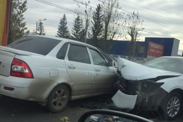 4 человека пострадали вДТП вЗаволжском районе