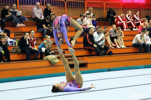 Омские спортсмены часто лидируют в гимнастике и спортивной акробатике.