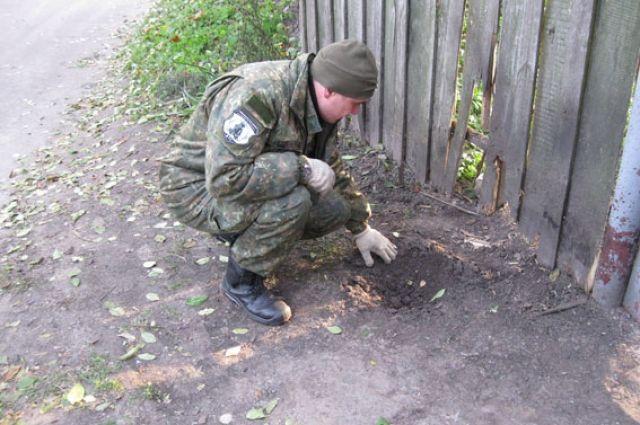 ВЧерниговской области Украины два человека пострадали отвзрыва гранаты