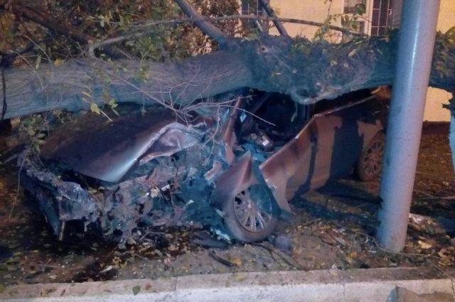 Водитель не пострадал.